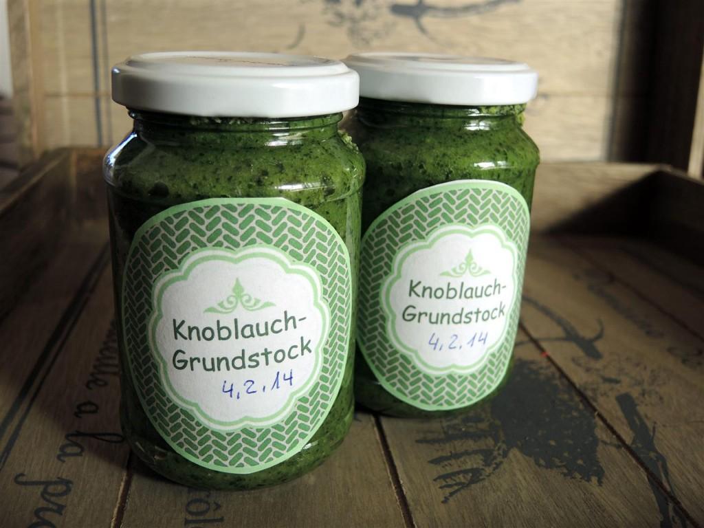 Knoblauch-Grundstock