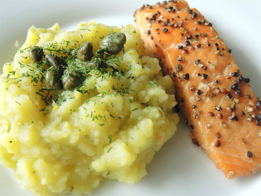 Gurken-Kartoffelstampf (1)