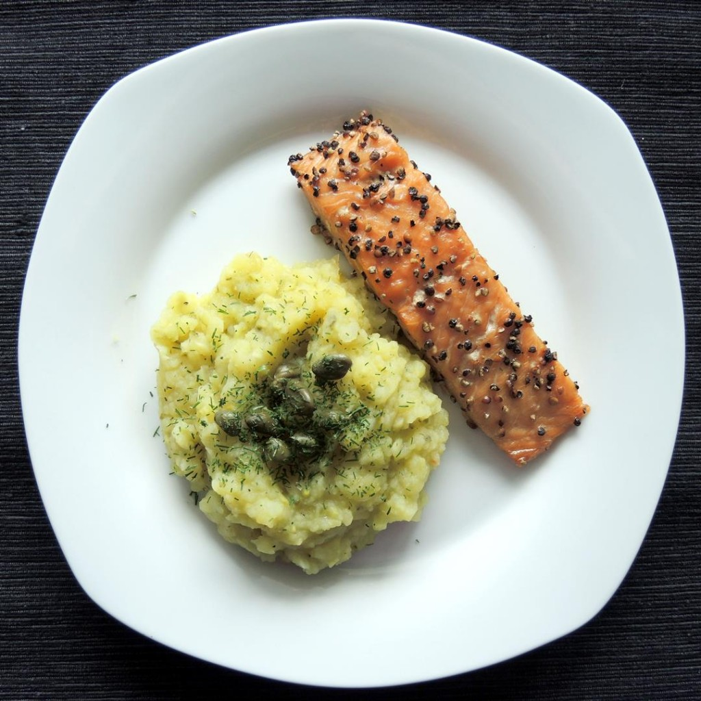 Gurken-Kartoffelstampf (2)