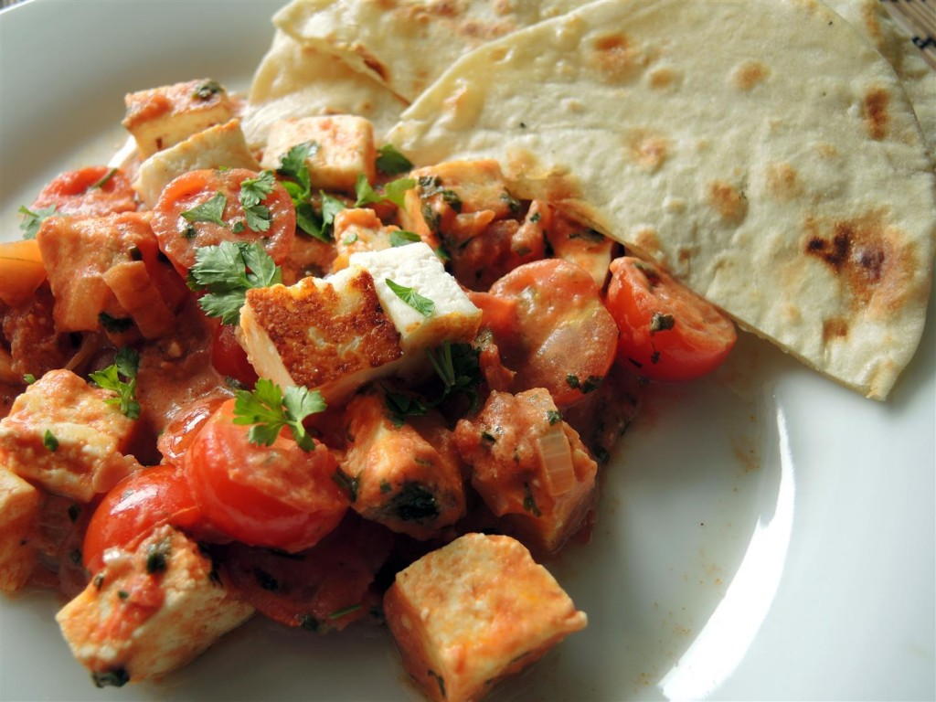 paneer in tomatencurry  (1)