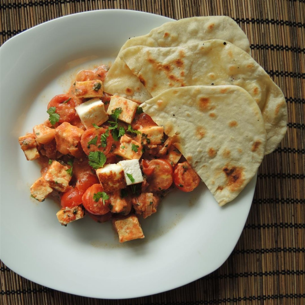 paneer in tomatencurry  (2)