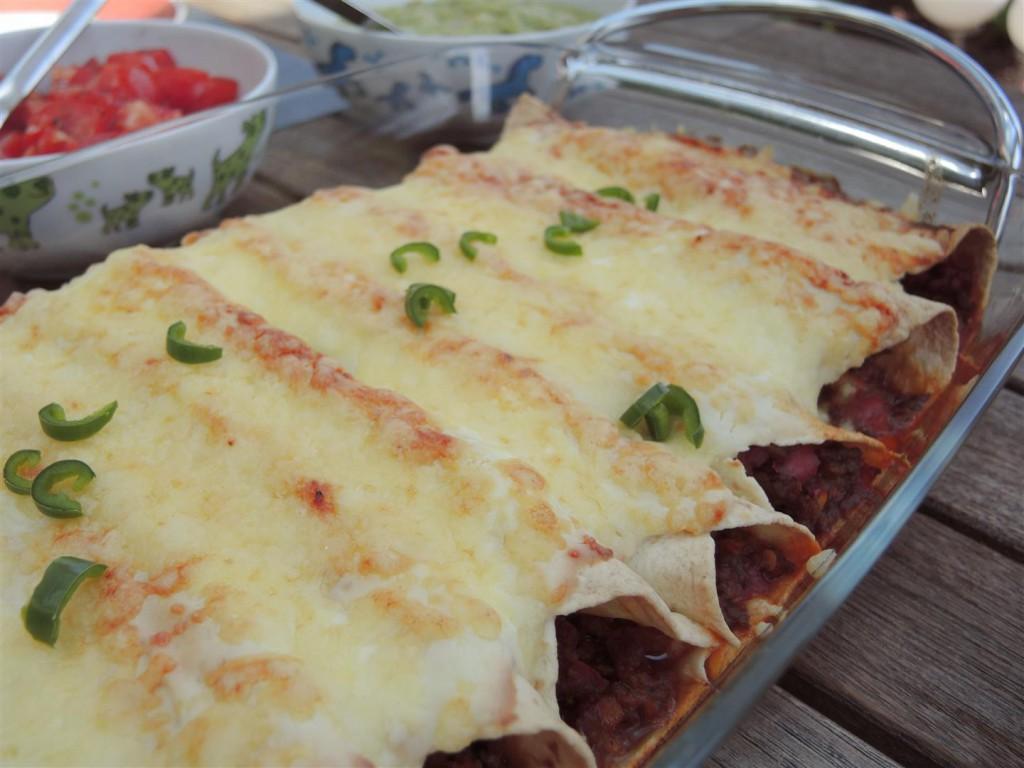 Enchiladas mit Hackfleischfüllung (3)