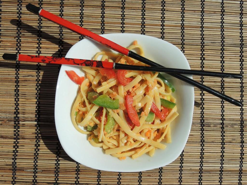 asiatischer Nudelsalat (2)