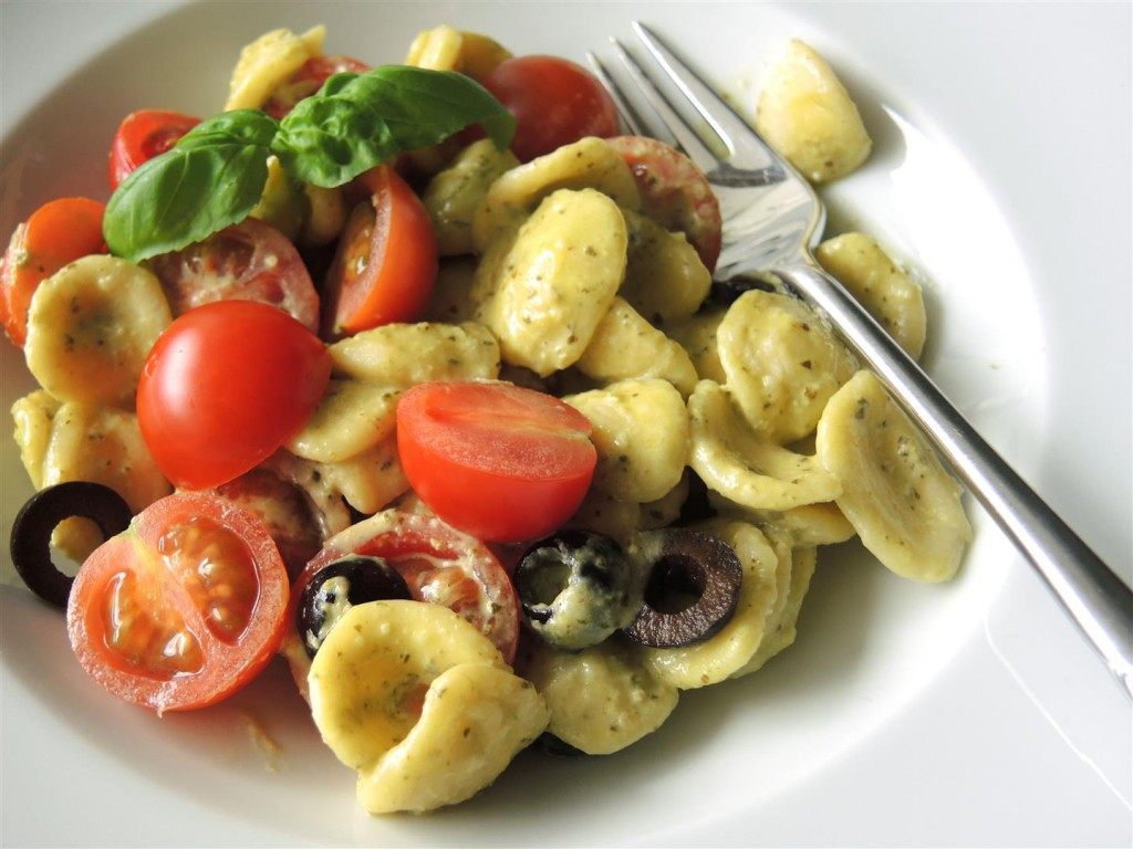 Orecchiette mit Pesto 1