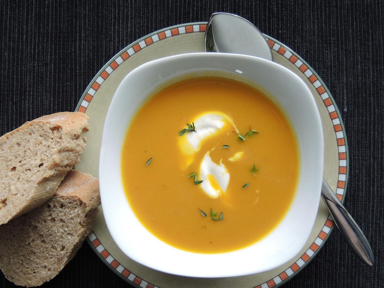Karotten-Ingwer-Suppe (1)