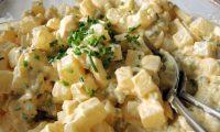 Kohlrabisalat oder falscher Kartoffelsalat Low Carb